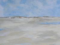 Acrylbild, Original Acryl auf Leinwand, Fortsetzung von Bild D52, Format: 80 x 80 cm, VERKAUFT