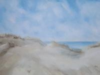 Dünen mit Meer, VERKAUFT