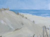 Dünen 1, Meer, Nordsee, Format: 50 x 50 cm,VERKAUFT