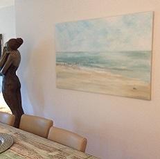 Ruhe am Meer 2, 150 x 100 cm