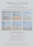 Postkarte Vernissage Strandhaus SPO