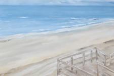 Ausblick aufs Meer, 100 x 70 cm, 2016, 1