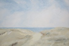Duenen, Sand und Meer, 100 x 70 cm, 1