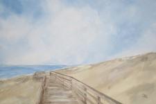 Weg zum Strand 2016, 100 x 70 cm, 1