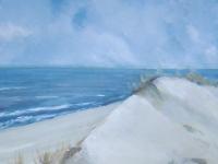 Dünenkuppe, Format: 50 x50 cm, VERKAUFT